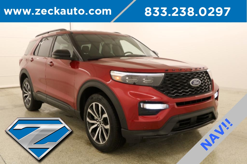 Pre-Owned 2020 Ford Explorer ST