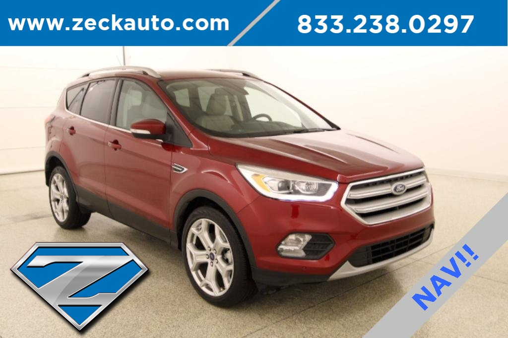 Pre-Owned 2019 Ford Escape Titanium