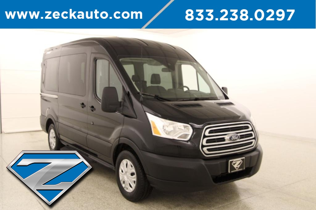 Pre-Owned 2019 Ford Transit-150 XLT Med Roof