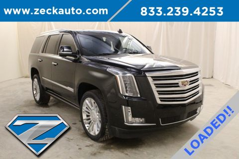 Pre-Owned 2017 Cadillac Escalade Platinum Edition